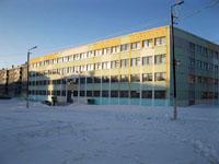 Здание школы, где находится историко-краеведческий музей Город на Севере России