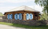 Дом, где прошли детские годы В.М. Шукшина