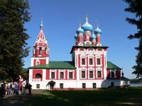 Церковь Царевича Дмитрия на крови. 1692 г.