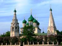 Ярославль. Церковь Ильи Пророка, XVII век.