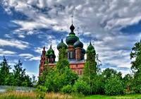 Ярославль. Церковь Иоанна Предтечи в Толчкове, XVII век.