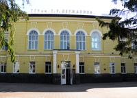 Здание Тамбовского государственного университета им. Г.Р. Державина, где расположен  Музей греха