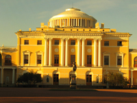 Здания и сооружения: Павловский дворец. 80-е годы XVIII века