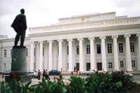 Казанский  университет,  в здании которого  находится Этнографический музей
