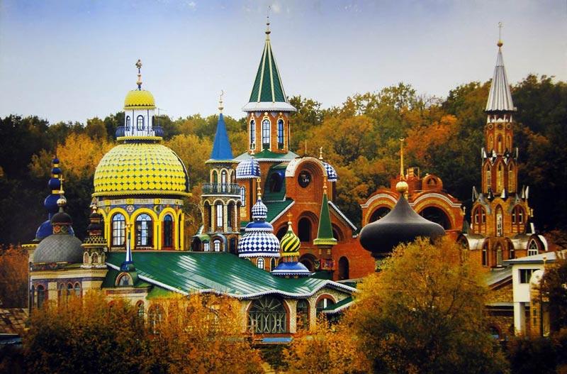 Здания и сооружения: Ильдар Ханов. Вселенский храм (фото с выставки «Ракурсы»)