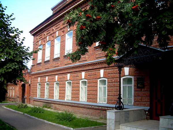 Здания и сооружения: Здание Музея истории города Йошкар-Олы